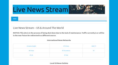 livenewsstream.live - live news stream - national, international, local