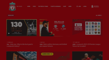 liverpoolfc.com - liverpool fc - homepage