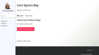 livesportsbay.com - live sports bay - watch live sports streaming online free