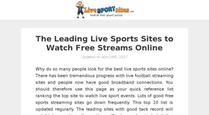 livesportsites.com -