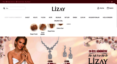 lizaypirlanta.com - lizay pırlanta : pırlanta, tektaş, kolye, yüzük, küpe, alyans