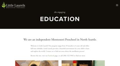 llmontessori.org - little laurels montessori preschool