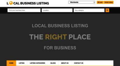 localbusinesslisting.org