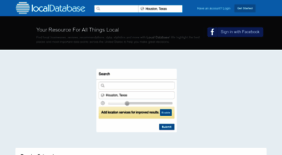localdatabase.com - local business directory & yellow pages - local database