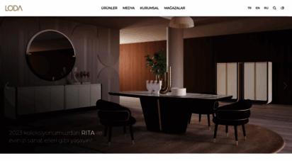loda.com.tr - loda retro modern tasarım mobilyalar