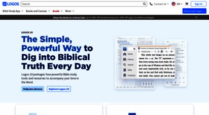 logos.com - logos bible software