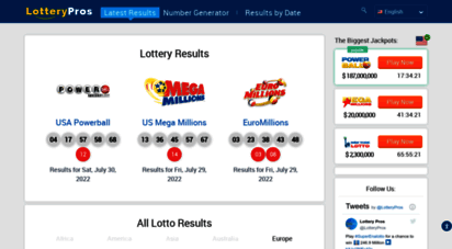 Lotto Result Archive