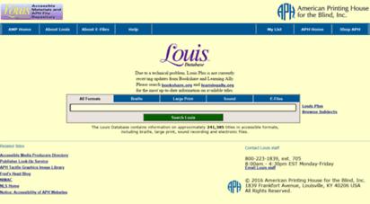 louis.aph.org -