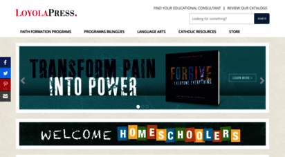 loyolapress.com - loyola press: a jesuit ministry: catholic religious education publisher