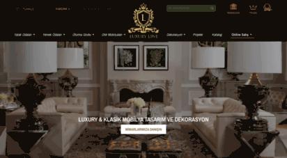 luxury.com.tr - luxury mobilya: lüks & klasik mobilya tasarım ve dekorasyon