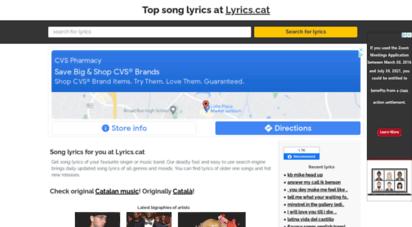 lyrics.cat