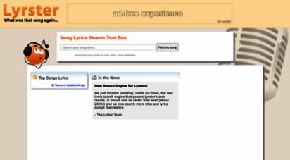 lyrster.com