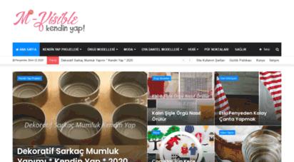 m-visible.com - kendin yap  örgü modelleri  2020 fikirleri ve ürünleri