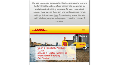 Epayments Dhl Co Uk >> Welcome To M Dhl Co In Dhl Welcome To The World S