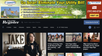 Welcome to M napavalleyregister com - Napa Valley Register