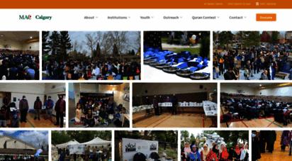 maccalgary.ca - mac calgary - muslim ssociation of canada - calgary chapter