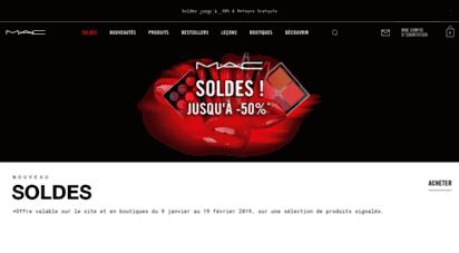 maccosmetics.fr - mac cosmetics france  site officiel mac