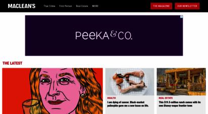 macleans.ca - macleans.ca - canada news, world news, politics, business, culture, health, environment, education