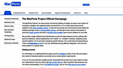 macports.org