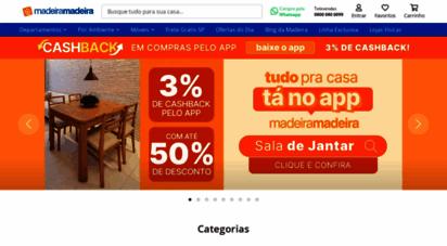 madeiramadeira.com.br - madeiramadeira - sua casa, seu jeito