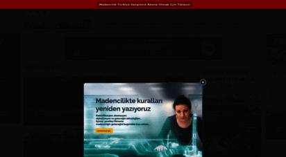 madencilikturkiye.com - madencilik türkiye - türkiye´nin madencilik haber portalı