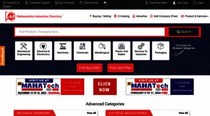 maharashtradirectory.com - maharashtra industries directory, indian manufacturers, suppliers