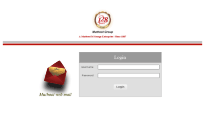 Welcome to Mail muthootgroup com - Muthoot Group Webmail :: Welcome