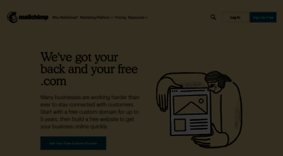 mailchi.mp - all-in-one integrated marketing platform for small business  mailchimp