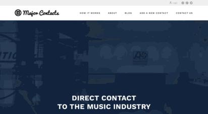 majorcontacts.com -