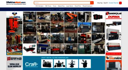 makinaalsat.com - ikinci el makina alım satım, 2.el ve yeni satılık makina ilanları  makinaalsat.com