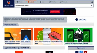 malavida.com - descargar aplicaciones para android gratis. apps 100 seguras