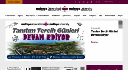 maltepe.edu.tr - maltepe üniversitesi  ana sayfa
