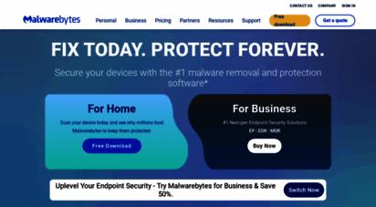 malwarebytes.com - malwarebytes cybersecurity for home and business  malwarebytes