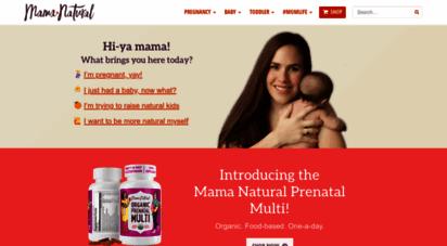 mamanatural.com - mama natural - pregnancy, babies, parenting & health tips