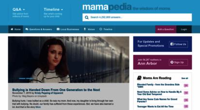 mamapedia.com - mamapedia™ - the wisdom of moms™