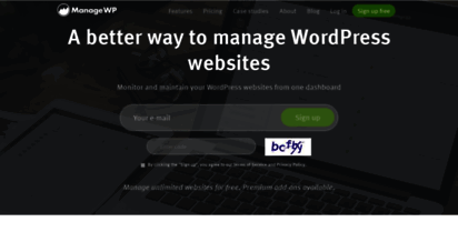 managewp.com - managewp - manage wordpress sites from one dashboard