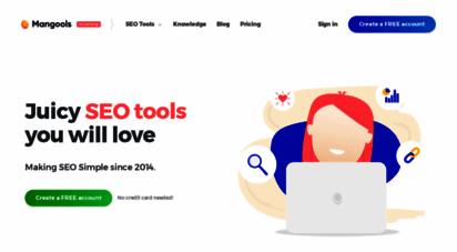 mangools.com - juicy seo tools you will love  mangools
