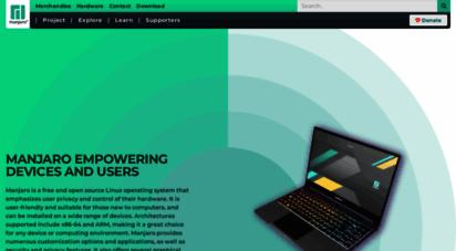 manjaro.org - manjaro linux - enjoy the simplicity