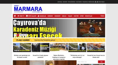 mansetmarmara.com - manşet marmara evdekal