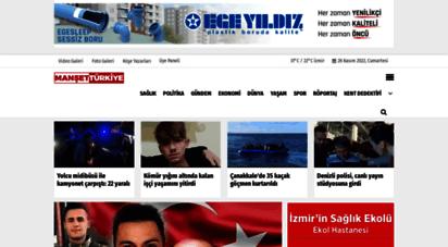 mansetturkiye.com - manşet türkiye  yeni haber siteniz