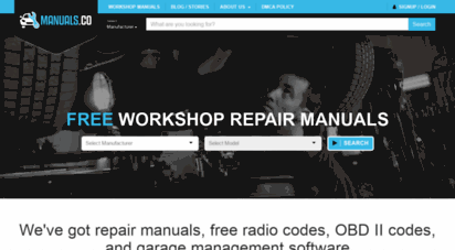 manuals.co - free workshop manuals  download repair & owners manuals