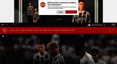 manutd.com - official manchester united website