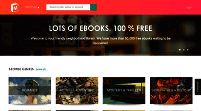manybooks.net - 50,000 free ebooks in the genres you love  manybooks