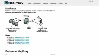 mapproxy.org - mapproxy — the accelerating web map proxy.