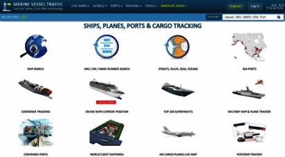 marinevesseltraffic.com - marine vessel traffic