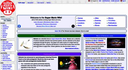 mariowiki.com - super mario wiki, the mario encyclopedia