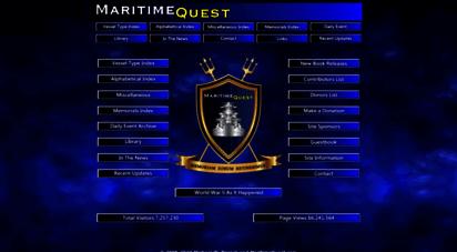 maritimequest.com - maritimequest - main page