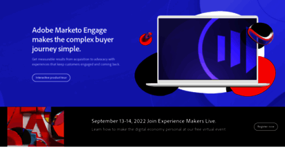 marketo.com - best-in-clss marketing automation software  marketo engage