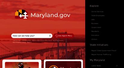 maryland.gov - maryland.gov - official website of the state of maryland