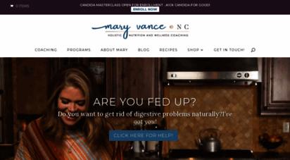maryvancenc.com - holistic nutrition bytessan francisco